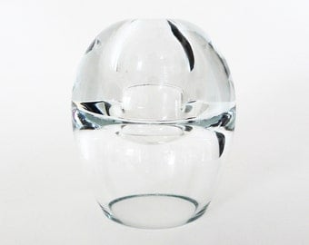 Polish Clear Art Glass / Collectible Glass Sculpture