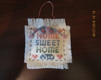 Home Sweet Home Pillow Ornament