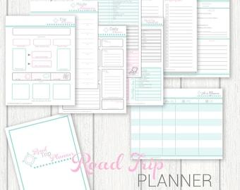 Road Trip Planner, Vacation Planner, Trip Planner, Plan a Road Trip, Travel Organizer, Travel Planner, Trip Organizer