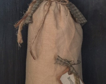 Primitive Prairie Doll Sage Green