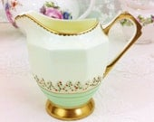 Beautiful Art Deco Creamer, Tuscan China