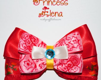 Princess Elena Hair Bow