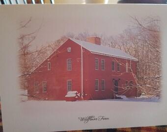 Wildflower Farm Seasonal Blank Greeting Cards