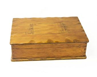 Vintage Wood Trinket/Jewelry Box