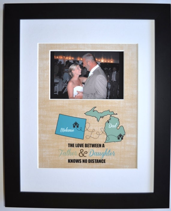 Father Daughter Dance Gift Wedding Keepsake Personalized