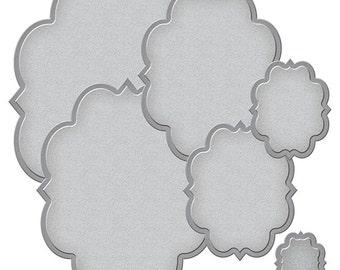 Spellbinders - Nestabilities - Renaissance - Labels Fifty One