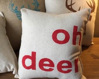 Oh Deer Pillow
