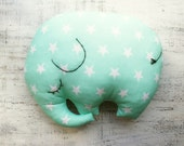 25 colors sleepy elephant pillow stuffed toy boho nursery decor 9x12 inches primitive animal baby shower gift rustic