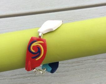 Custom made rowing bracelet