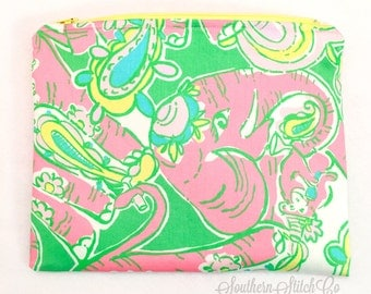 """Clutch in Lilly Pulitzer """"Chin Chin"""""""