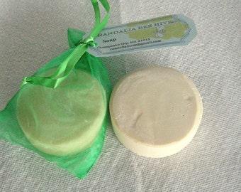 Randalia Bee Hives Coconut Milk, Bentonite Shaving Soap 2/8