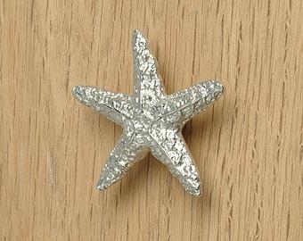 Starfish bathroom cupboard handles (small), drawer pulls, cupboard handles