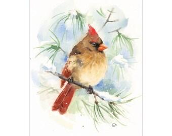Cardinal Neat Glass