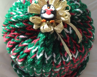 Christmas Toilet Paper Cover