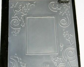 Star Border Embossing Folder from Darcie Inc