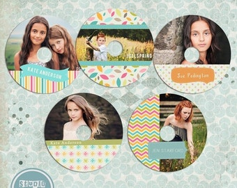 ON SALE cd templates for photographers DVD Templates for photographers Label Templates for Photographers - Instant Download