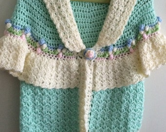 Little girls sweater size 3/4