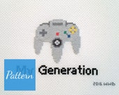 My Generation - N64 - Cross Stitch Pattern