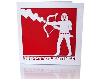 Star Wars Valentines Day Card