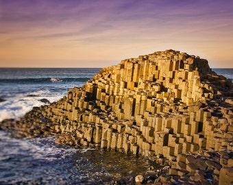 Giants Causeway III, Ireland, Irish Shoreline Photo, Northern Ireland, The Emerald Isle, Ireland Photography, Fine Art Photography