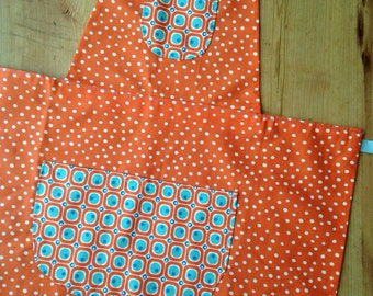 Kids spotty apron