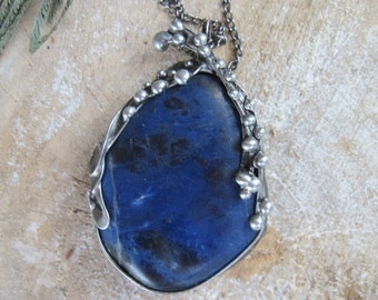 pendant with sodalite