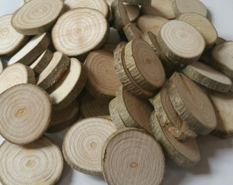 Ash, Wooden blanks, 4cm, Ash, Tree slices, wood slices, branch slices, wooden slices, craft, crafting, wedding, outdoor crafts
