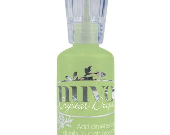 Nuvo Chrystal Drops - Apple Green