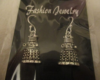 Doctor Who inspired Dalek earrings