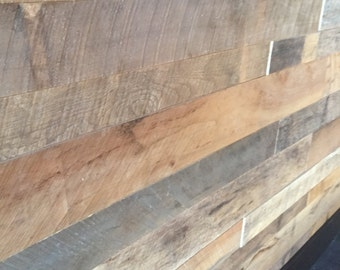 Reclaimed Wood Wall Skins