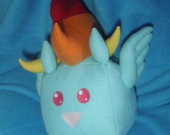 My Little Pony Rainbow Dash Sugar Cube Plushie