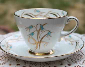 """ROYAL GRAFTON Fine Bone China Teacup and Saucer Set """"Virginia"""""""