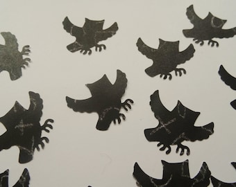 Halloween Owls, Halloween Decorations, Halloween Owl Confetti, Halloween Party Decor, Owl Cutouts, Owl Scrapbook Embellishments