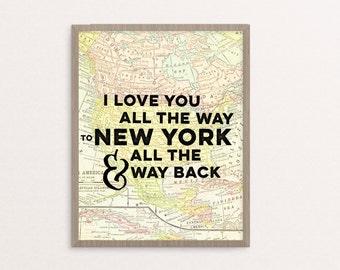 CUSTOM I Love You to ___________ and Back (Adoption/Travel)