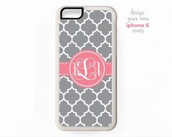 monogram iphone 6 cover • design your own