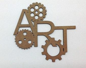 Chipboard Art Gears