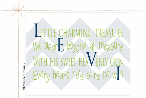 Baby Boy Gifts With Name : Items similar to personalized baby gifts newborn boy