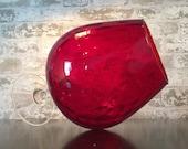 Vintage Crimson Ballot Snifter