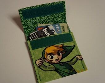 LEGEND of ZELDA Wallet Fabric LINK Credit Card Holder
