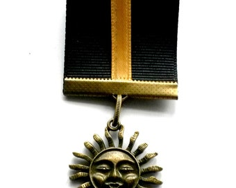 Steampunk Military Honors Medal  -   Her Majesty's Award for Airship Valor