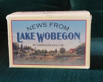 "Vintage Garrison Keillor Recordings, ""News from Lake Wobegon"" set, 1983."