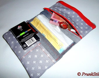 """""""Lily"""" zippered tobacco pouch"""