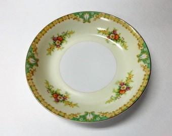 Empress China Soup Bowls Japan 1930's Vintage Handpainted Soup Bowl Glenmnore pattern