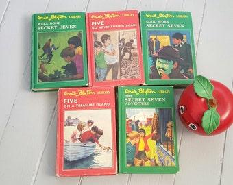 Enid Blyton Library Set of 5 Secret Seven Famous Five