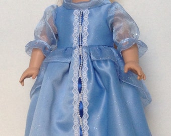 American Girl Dress, Doll Dress, Historical Style Dress for Your 18 inch Doll