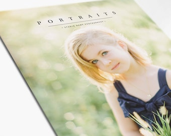 Photography Marketing Brochure - Portrait Photography Marketing Magazine - JOY - 1510