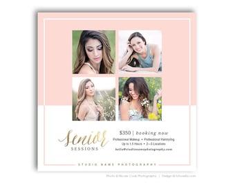 Senior Photography Marketing Template - Digital Marketing Template - SIGNATURE 3 - 1574