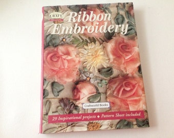 Amazing Embroidery, Ribbon Embroidery, Silk Embroidery, Embroidery Book, Ribbon Pattern Book, Embroidery Patterns, Flower Embroidery