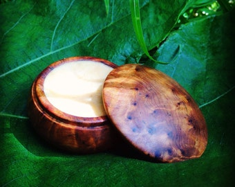 Amber Rose Solid Perfume. Natural, vegan and alcohol free.
