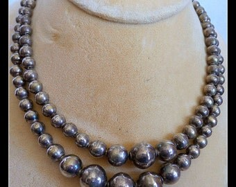 Necklace Vintage Sterling Mexico